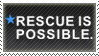 rescue is possible : stamp by ifyouplease