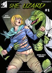 She Lizard #1 by locofuria