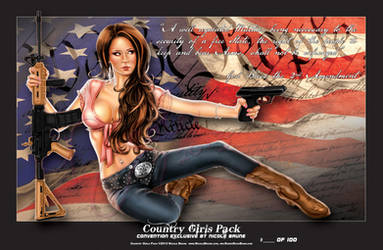 Country Girls Pack Convention Exclusive by NicoleBrune