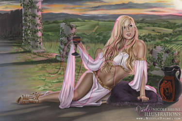 Waiting for Dionysus by NicoleBrune