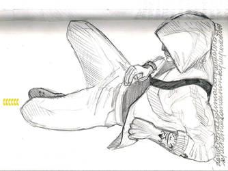 Break sketch: Desmond by WisesnailArt