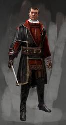 Niccolo' Machiavelli by WisesnailArt