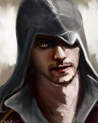 Assassin!Fede by WisesnailArt