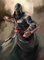 Ezio Revelations by WisesnailArt