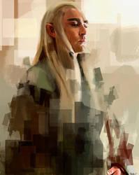 King Thranduil by WisesnailArt