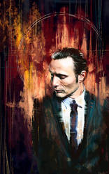 Dr. Hannibal Lecter by WisesnailArt