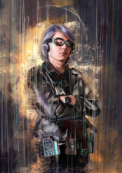 Quicksilver by WisesnailArt