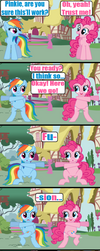 Pinkie's new trick 2 by Death-Driver-5000