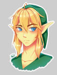 A little frowning Link by NeniNyan