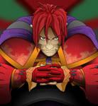 Human Xyston/Rampage by joshin-yasha