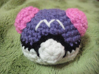 Crochet Masterball by neonjello17