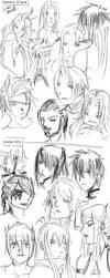 Doodles time by ErEkE-Wcore