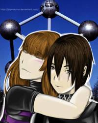 Ryuza and Cryo by ErEkE-Wcore