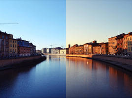 Pisa day/night by lelita8