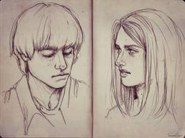 Alice and Mattia by fdasuarez