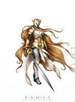 Holy Knight by fdasuarez