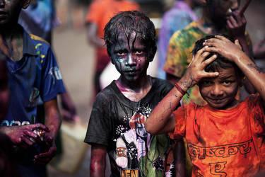 Children of Holi by zosogis