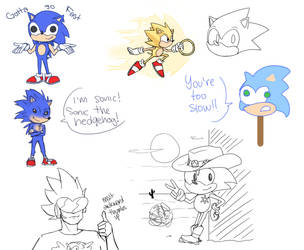 12.10 Sonic Sketch page by Mr-Sage