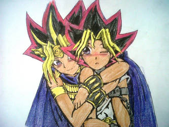Yugioh Fanfiction colored by blackorchid2007