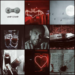 Vampire! Abe Aesthetic by ClanWarrior