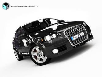 Audi A3 - 3ds Max - Vray by JK-Studios