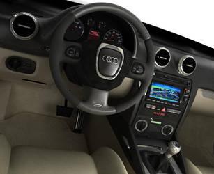 Audi 3d model interior 01 by JK-Studios
