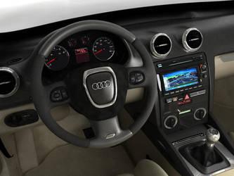 Audi A3 model interior - 02 by JK-Studios