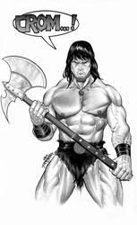 Conan The Barbarian by JacksonHerbert