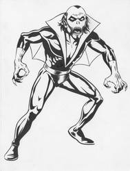 Morbius the Living Vampire by NeilRiehle