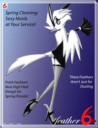 Feather 6 Cover: MAR 2012 by TheLoneCrow
