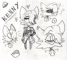 Kenneth Doodles by KreatiivFox