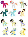 Plush Mirum and Mummy adopts (Closed) by Strawberry-T-Pony