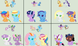 Disliked Ships Adopts (Closed) by Strawberry-T-Pony