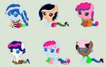 Wild Card X Chaotic Confetti for megashadowmew by Strawberry-T-Pony
