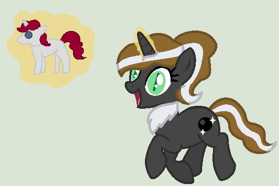 Black Pearl by Strawberry-T-Pony