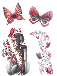 butterfly flash page by A-T-G-4