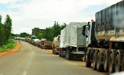 Camions du Burkina by Lamollesse