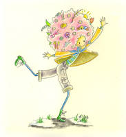 Spring girl by jkBunny