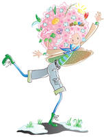 Spring girl _vector by jkBunny