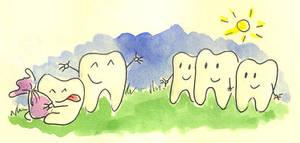 Happy teeth by jkBunny