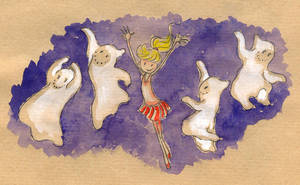 Dancing with ghosts by jkBunny