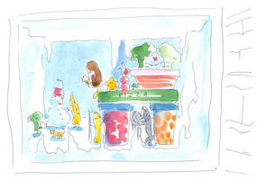 Freezer compartment by jkBunny