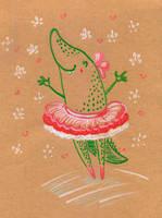 Crocodance by jkBunny