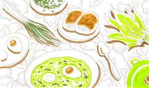 Green borscht by jkBunny