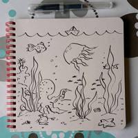Underwater by jkBunny