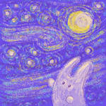 The Starry Night by jkBunny