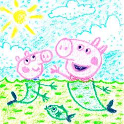 Peppa Pig by jkBunny