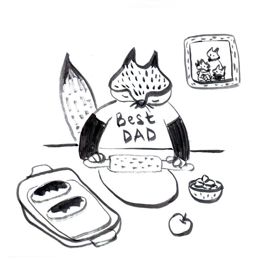 Dad by jkBunny