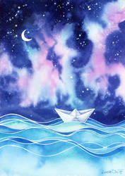 A Boat Full of Dreams by LucieOn