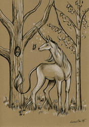 Last Unicorn by LucieOn